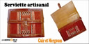 articles publicite-articles artisanals-cartable artisanal